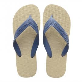 Chanclas Havaianas Top Max beige/azul hombre