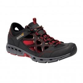 Zapatillas trekking Regatta Samaris Crosstrek negra hombre
