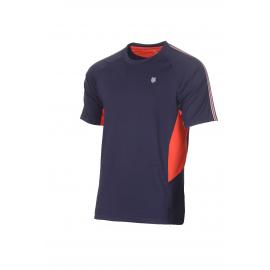 Camiseta tenis/padel Kswiss Heritage azul hombre