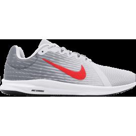 Zapatillas Nike Downshifter 8 gris/rojo hombre