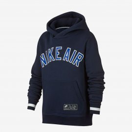 Sudadera Niño Nike Air SSNL Fleece Top azul