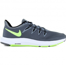 Zapatillas running Nike Quest gris/lima hombre