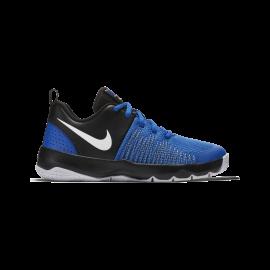 Zapatillas baloncesto Nike Team Hustle Quick azul niños
