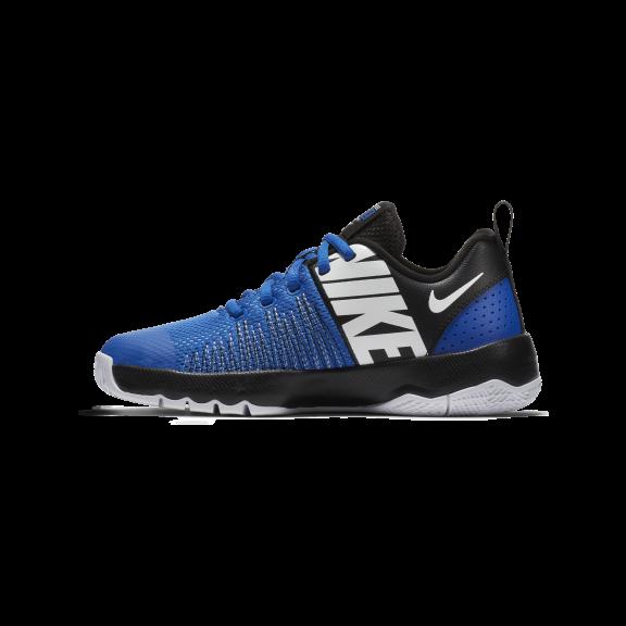 ffc91eb17 Zapatillas baloncesto Nike Team Hustle Quick azul niños - Deportes Moya