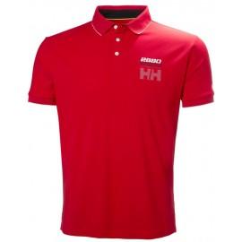 Polo manga corta Helly Hansen HP Racing rojo hombre
