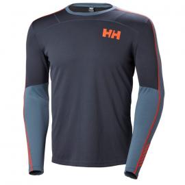 Camiseta térmica Helly Hansen Lifa Active Crew azul hombre