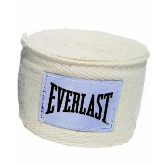 Venda boxeo Everlast EVH4454 3m blanca