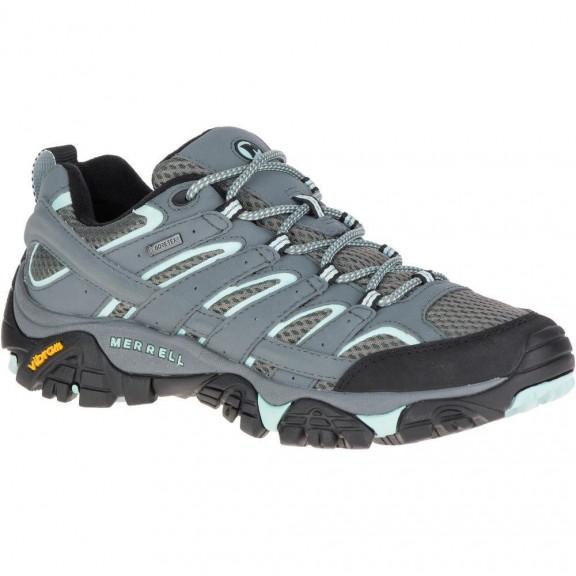 0da6aec3603d1 Zapatillas trekking Merrell Moab 2 GTX gris mujer - Deportes Moya