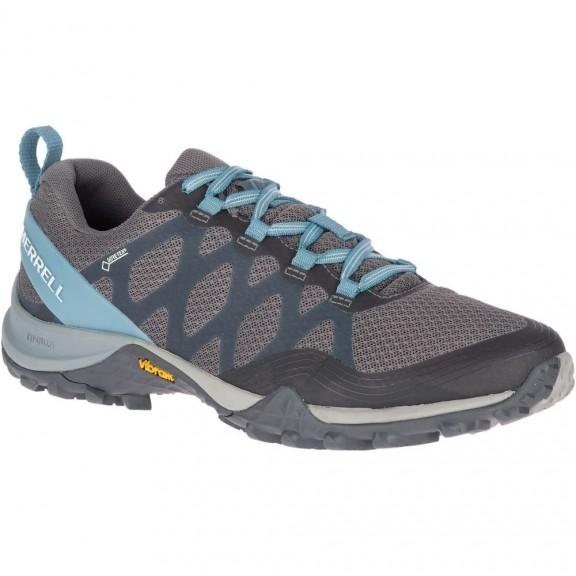 7f24211f0 Zapatillas trekking Merrell Siren 3 GTX gris/azul mujer - Deportes Moya