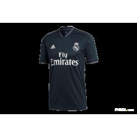Camiseta fútbol adidas Real Madrid 2ª 2018/19 negra hombre