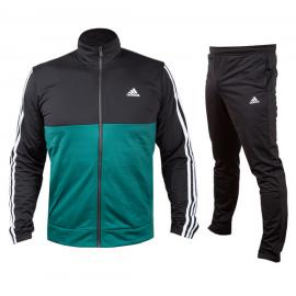 Chandal adidas Back2Bass 3S TS verde/negro hombre