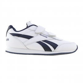 Zapatillas Reebok Royal CLJOG velcro blanco/azul niño