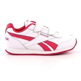 Zapatillas Reebok Royal CLJOG velcro blanco/rosa niña