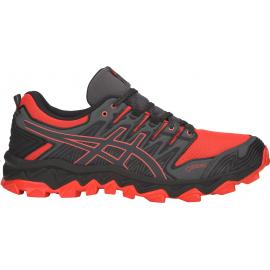 Zapatillas trail Asics Fuji Trabuco 7 GTX rojo/gris hombre