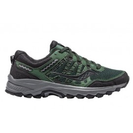 Zapatillas trail Saucony Excursion TR12 verde/negro hombre