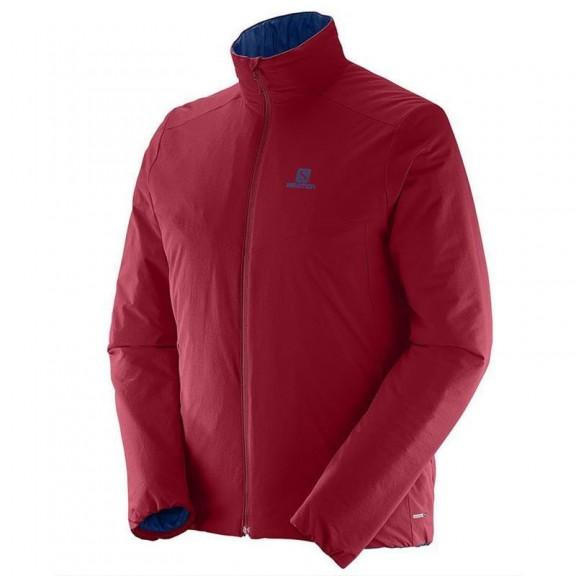 Chaqueta Salomon Drifter Jacket rojo hombre