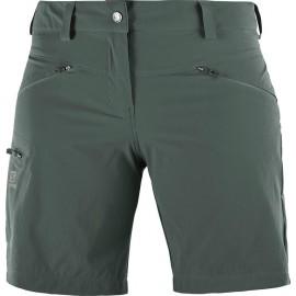 Pantalón corto Salomon Wayfarer verde mujer