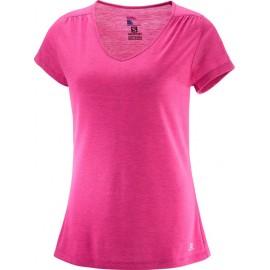 Camiseta Salomon Ellipse rosa mujer