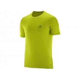 Camiseta montaña Salomon Cosmic amarillo hombre