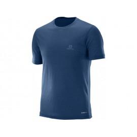 Camiseta Outdoor Salomon Explore hombre azul