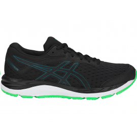 Zapatillas running Asics Gel-Cumulus 20 negro/verde junior