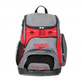 Mochila Speedo Teamster Rucksack 35L gris/roja