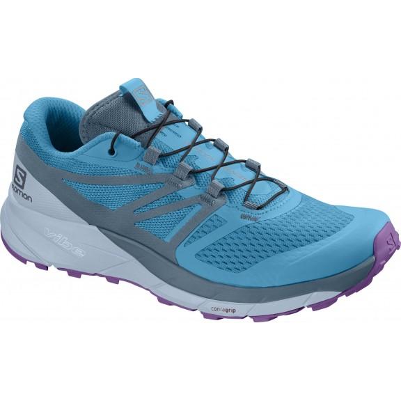 01c7add8e373f Zapatillas trail running Salomon Sense Ride 2 W azul mujer ...