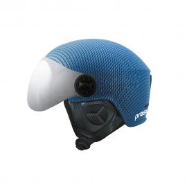Casco esquí Prosurf Visor mate carbon azul