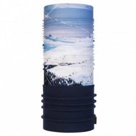 Cuello de polar Buff Mont Blanc blanco/azul unisex