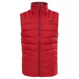 Chaleco outdoor The North Face Peak Frontier rojo hombre