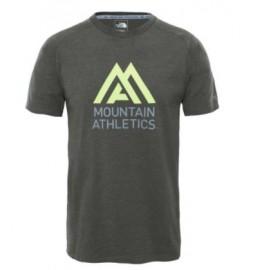Camiseta M/C The North Face Wicke Graphic Crew verde hombre