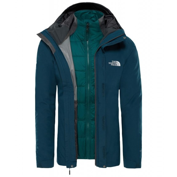 Chaqueta The North Face Merak Triclimate kodiac blue hombre