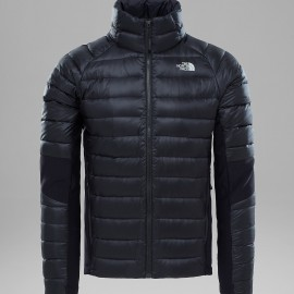 Plumas The North Face Crimptastic Hybrid negro/gris hombre