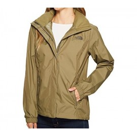 Chaqueta chubasquero The North Face Resolve verde mujer
