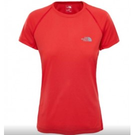 Camiseta M/C The North Face Flex coral mujer