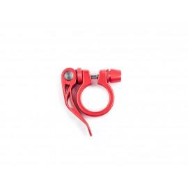 Cierre Sillin Aluminio 31,8mm Rojo