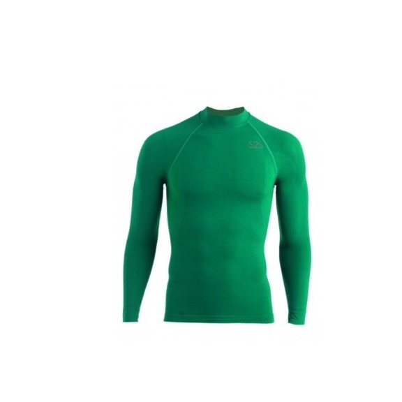 Camiseta térmica S2S  Rex 2202k verde niño