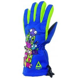 Guantes esquí Matt Cute Kidas Tootex Gloves azul verde