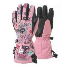 Guantes esquí Matt Love Cats Tootex Glove rosa
