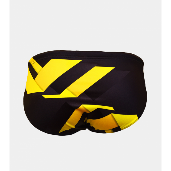 0cfebebe5 Bañador waterpolo Turbo Garage amarillo hombre - Deportes Moya