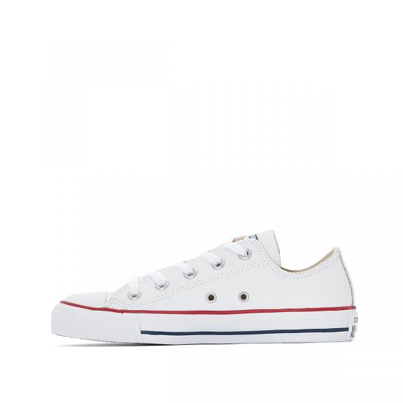 7075e8a4463 Zapatillas Converse All Star OX piel blanca unisex - Deportes Moya