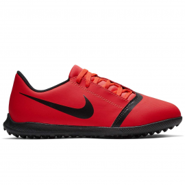 Zapatillas fútbol Nike Phantom Venom Club TF rojo junior
