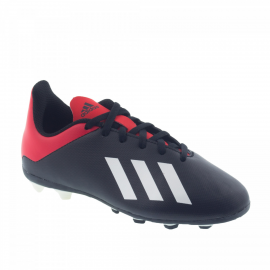 Zapatillas fútbol adidas X 18.4 FXG J negra junior