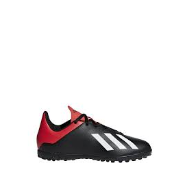 Zapatillas fútbol adidas X 18.4 TF J negra junior