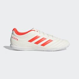 Zapatillas fútbol adidas Copa 19.4 IN blanco/rojo hombre