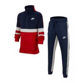 Chandal Nike Air Track Suit Cuff azul/rojo niño