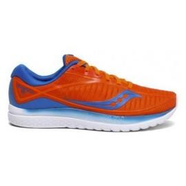 Zapatillas running Saucony Kinvara 10 naranja/azul hombre