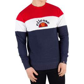Camiseta M/L Ellesse Orvieto azul/rojo hombre