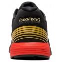 Zapatillas running Asics Dynaflyte 3 negro/rojo hombre