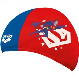 Gorro natación Arena Polyester Super Hero Superman niño